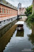 Travel photography:Ghent canal, Belgium