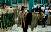 Travel photography:Village elders dressed for the annual festival, Sorata, Bolivia