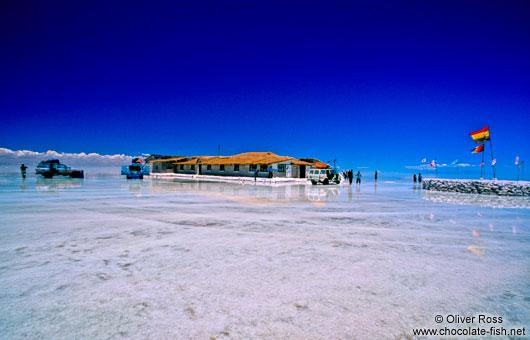 Bolivien Salar De Uyuni The Hotel De Sal In The Salar De