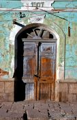 Travel photography:Door in Uyuni, Bolivia
