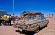 Travel photography:Vehiculo Custodiado Satelitamente (satellite guided vehicle), Bolivia