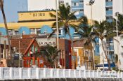 Travel photography:Salvador de Bahia houses , Brazil