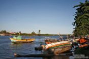 Travel photography:Valença harbour , Brazil