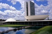 Travel photography:Parliament buildings in Brasilia, Brazil