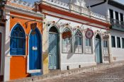 Travel photography:Lençóis houses, Brazil