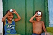 Travel photography:Two boys in Lençóis, Brazil