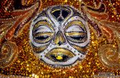 Travel photography:Carnival costume detail, Brazil