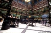 Travel photography:The Real Gabinete Português de Leitura (old city library) in Rio, Brazil