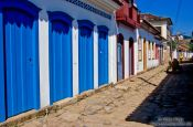 Travel photography:Parati street, Brazil