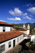 Travel photography:Ouro Preto street, Brazil