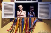 Travel photography:Window display in Ouro Preto, Brazil