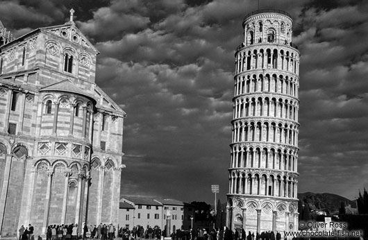 The Duomo (cathedral) and Leaning Tower in Pisa