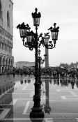 Travel photography:Partly flooded San Marco square, Italy