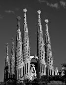 Travel photography:Sagrada Familia Basilica in Barcelona, Spain