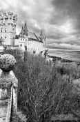 Travel photography:The Segovia Alcazar, Spain
