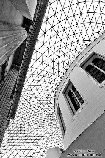 The British Museum in London