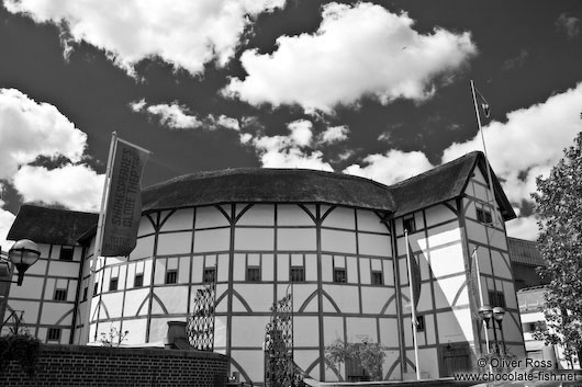 The Globe Shakespeare theatre in London