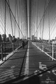 Travel photography:Brooklyn Bridge Cables, USA