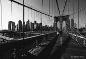Travel photography:Brooklyn Bridge and New York City, USA