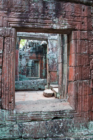 Remains of Banteay Kdei temple