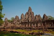 Travel photography:The Bayon (King´s State Temple) at Angkor Thom, Cambodia