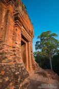 Travel photography:The early morning sun on Phnom Bakkheng , Cambodia