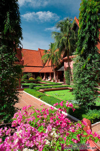 Courtyard of the Phnom Penh National Museum