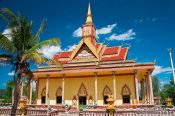 Travel photography:Temple between Sihanoukville and Kampott , Cambodia
