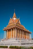 Travel photography:Temple at the Vipassara Dhara Buddhist Centre near Odonk (Udong), Cambodia