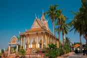 Travel photography:Temple near Odonk (Udong) , Cambodia