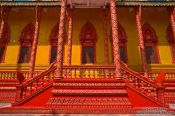 Travel photography:Temple stairs near Odonk (Udong) , Cambodia
