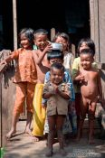 Travel photography:Kids near Odonk (Udong) , Cambodia