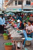 Travel photography:The Battambang central market , Cambodia