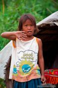 Travel photography:Kid near Tonle Sap Lake, Cambodia