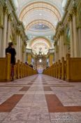 Travel photography:Inside the Cathedrale Marie Reine du Monde, Canada