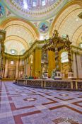 Travel photography:Inside the Cathedrale Marie Reine du Monde cathedral, Canada