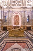 Travel photography:Chapel inside the Cathedrale Marie Reine du Monde cathedral, Canada