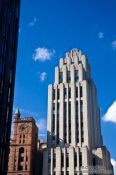 Travel photography:Art-deco style building in Montreal, Canada