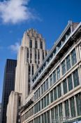 Travel photography:Montreal city buildings , Canada