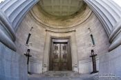Travel photography:Entrance portal to the Montreal Court of Appeal, Canada