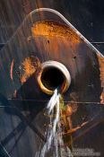 Travel photography:Ship detail in St. John´s harbour, Canada