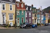 Travel photography:St. John´s houses , Canada
