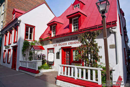 Anciens Canadiens house in Quebec