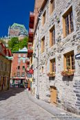 Travel photography:Houses in Quebec´s lower old town (basse ville) , Canada