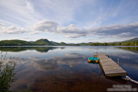 Lake near Quebec´s Mont Tremblant National Park