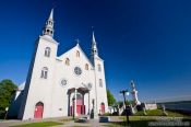 Travel photography:Cap Sainte Famille church , Canada