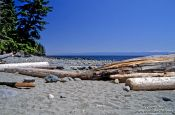 Travel photography:Beach on the Juan de Fuca Trail, Canada
