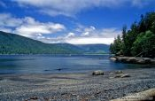 Travel photography:Vancouver Island Beach on the Juan de Fuca Trail, Canada
