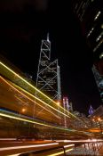 Travel photography:Hong Kong downtown at night , China