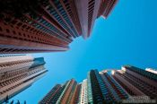 Travel photography:Modern living in Hong Kong´s high-rises , China